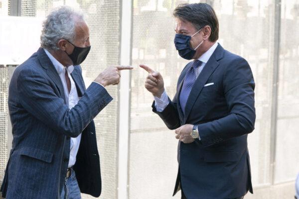 Conte dichiara guerra a Draghi, il rancore dell'azzeccagarbugli beniamino di Travaglio e protettore di Arcuri