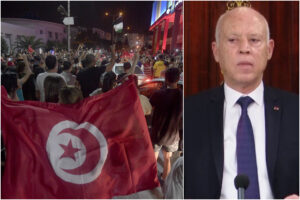 Tunisia nel caos, il presidente Saied rimuove il premier e sospende il Parlamento: scontri nelle piazze