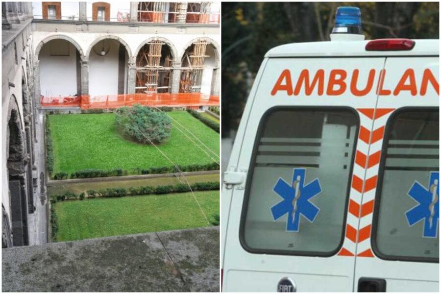 Tragedia all'Università Federico II, giovane cade dalla finestra e muore: si cercano testimonianze