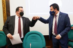 MATTEO SALVINI LEGA CLAUDIO DURIGON LEGA