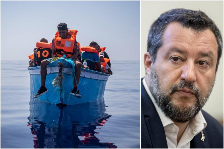 """Salvini torna a concimare odio e raccogliere consenso raffazzonato: """"Difficile sostenere chi accetta gli sbarchi"""""""
