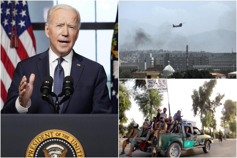 Afghanistan, la disfatta di Joe Biden: un mese fa escludeva la riconquista  dei Talebani e il paragone col Vietnam - Il Riformista