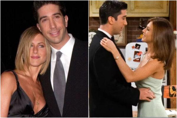Jennifer Aniston e David Schwimmer fidanzati? La storia d'amore che tutti vorrebbero