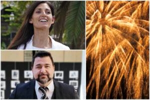 Raggi, fuochi d'artificio per la cena elettorale e i romani pagano 28mila euro