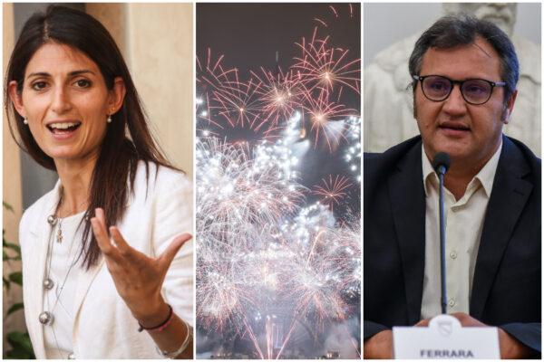 """Fuochi d'artificio alla cena elettorale M5s pagata con i fondi della cultura, Ferrara: """"Coincidenza"""""""