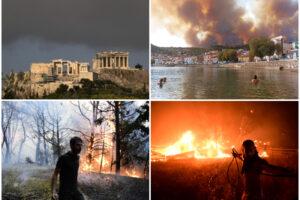 """Brucia la Grecia e le fiamme minacciano Atene, migliaia gli sfollati: """"È l'inferno"""""""