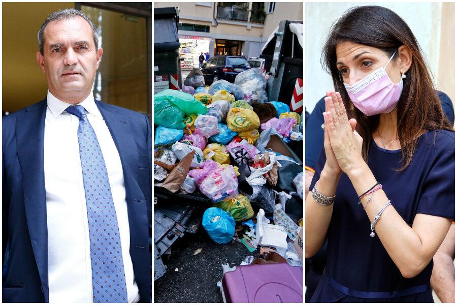 """Emergenza rifiuti, Napoli pronta ad aiutare Roma: """"Riceveremo 150 tonnellate al giorno"""""""