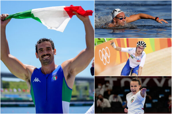 Rizza conquista l'argento nel kayak, bronzo per Paltrinieri, Viviani e Bottaro