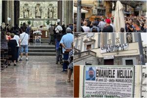 """""""Emanuele sei il cuore di Napoli"""", l'ultimo saluto della città all'autista del bus precipitato a Capri"""