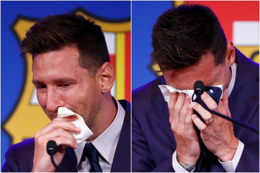 """Messi, l'ultimo addio tra le lacrime al Barcellona: """"Non ero pronto a tutto questo"""""""