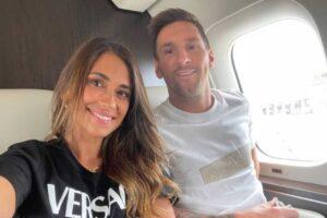 """Chi è Antonella Roccuzzo, la moglie di Messi: """"Ci conosciamo da piccoli, è la compagna della mia vita"""""""