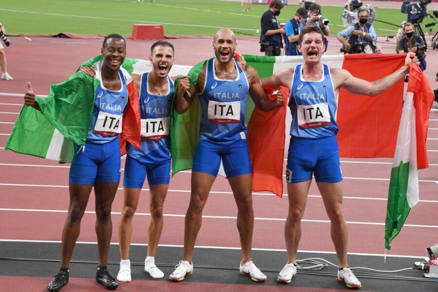 L'Italia è il Paese più veloce del mondo, Oro nei 4×100: Patta-Jacobs-Desalu-Tortu nella storia