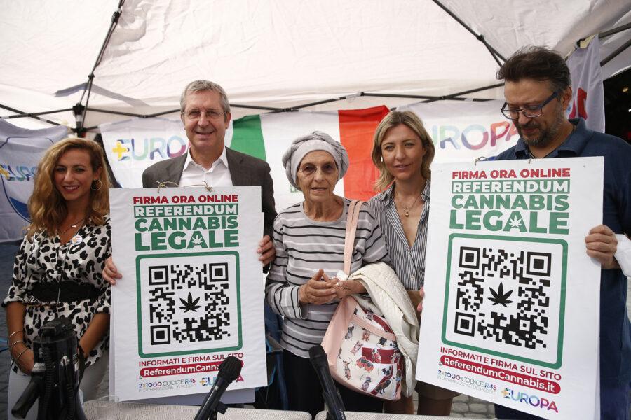 Referendum cannabis, raggiunte le 500mila firme in una settimana: un 'messaggio' al Parlamento