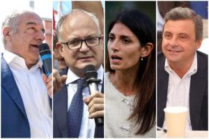 Sondaggi Roma: Michetti e Gualtieri al ballottaggio, Raggi e Calenda sperano negli indecisi