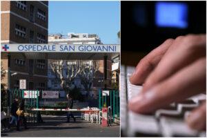 """Attacco hacker all'ospedale San Giovanni, caos cartelle cliniche e sanitari in tilt: """"Comunichiamo via whatsapp"""""""