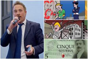 Marione abbandona la nave: l'ex fumettista di Raggi passa con Trombetta, il sovranista dei 'sesterzi'