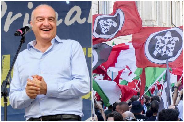 """Casapound """"entra"""" nella Lega e appoggia Michetti per il Campidoglio"""