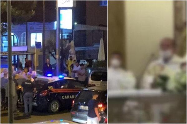 Carabiniere ferito mentre tenta di sedare rissa alla comunione del figlio: rischia la paralisi