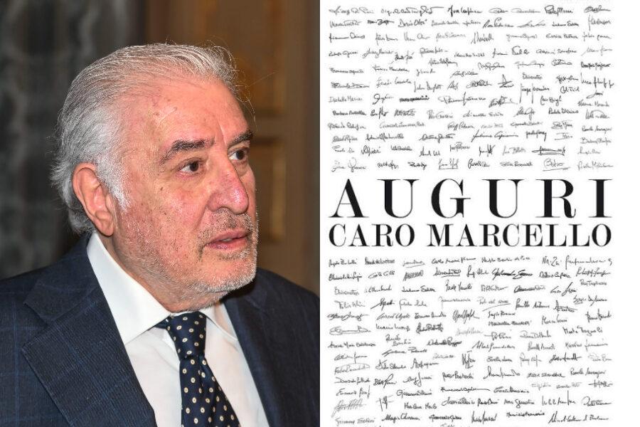 """Gli 80 anni di Marcello Dell'Utri celebrati con una pagina sul Corriere, insorge Travaglio: """"Andava censurata"""""""