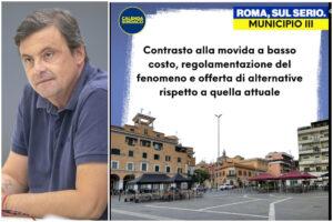 Calenda, bufera sulla malamovida 'a basso costo': la ricetta per Roma sono gli alcolici a temperatura ambiente