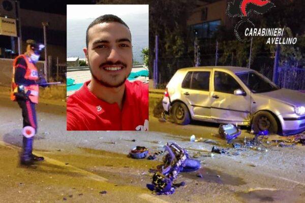 Tragedia sulla statale, schianto fatele moto-auto: Roberto muore a 25 anni