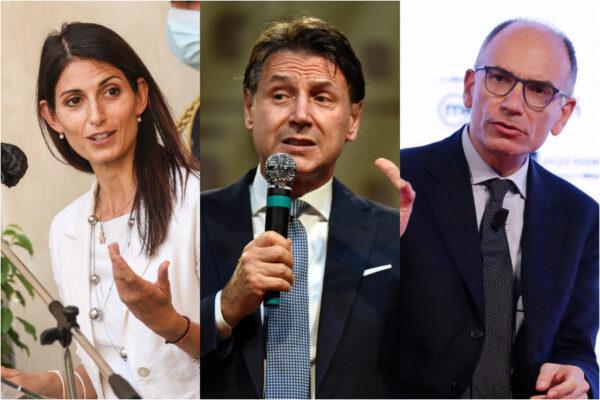 Conte e Letta, patto di ferro per le elezioni: Siena senza simbolo e a Roma sgambetto alla Raggi
