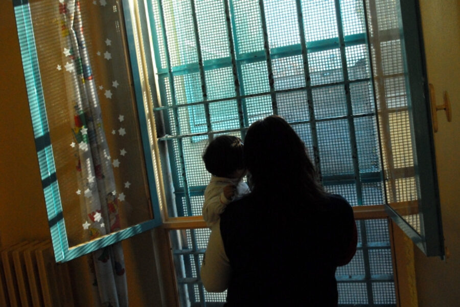 Tutti hanno lasciato che un bambino nascesse in prigione