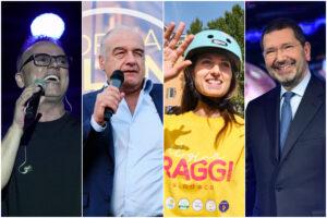 Gigi D'Alessio con Michetti, Raggi manda un sos a Marino: le ultime mosse prime del voto