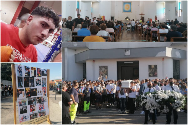 """L'ultimo saluto a Gennaro, ammazzato nei vicoli della movida: """"Siamo tutti colpevoli, basta uscire con i coltelli"""""""