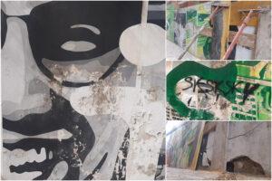 Napoli dimentica i suoi simboli: il murales per Giancarlo Siani cade a pezzi, e Regione e Comune assenti