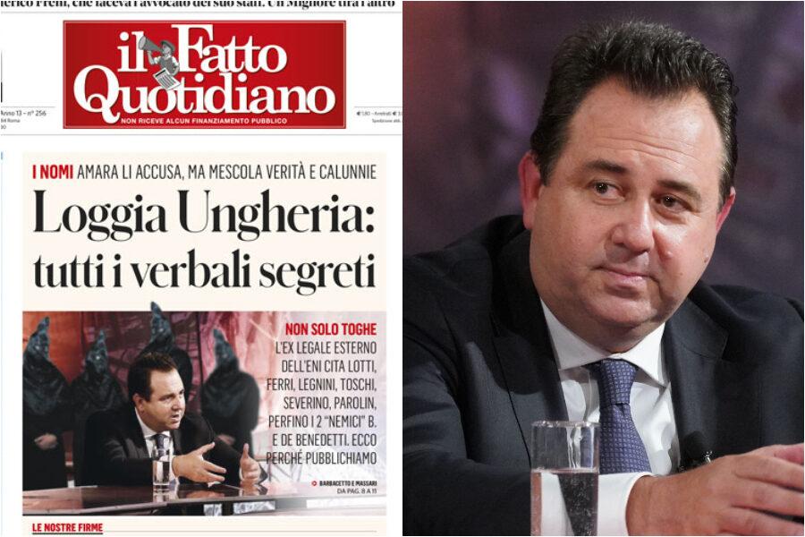 Loggia Ungheria, tutti i nomi coinvolti nello scandalo che fa tremare le toghe