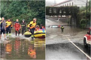 Maltempo in Lombardia: A Varese crolli e auto intrappolate, nel milanese esonda il fiume Olona