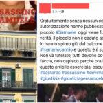 """Le foto di Mariano Cannio fanno il giro del web: """"Ha ucciso Samuele, non va tutelato"""""""