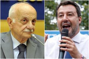 """Mario Mori senatore a vita, Salvini sposa l'appello del Riformista: """"Gli va tributato questo onore"""""""