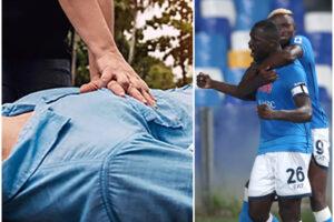 Segna Koulibaly, tifoso esulta e soffre un arresto cardiaco: il malore durante Napoli-Juventus