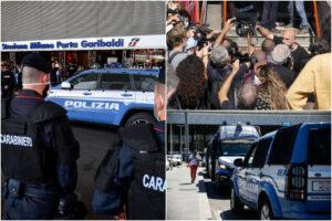 Proteste no Green Pass, flop nelle stazioni: pochi manifestanti, i 'ribelli' restano sul web