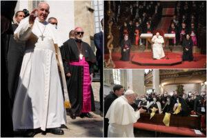 """Come sta Papa Francesco: """"Sono ancora vivo"""", e invita i preti a omelie di massimo 10 minuti"""