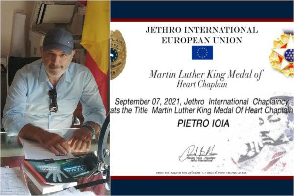 """Al garante Pietro Ioia il Premio dedicato a Martin Luther King: """"Io ho un sogno, una società senza carceri"""""""