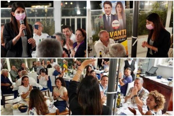 """Comunali Roma, rinviati (con giallo) i fuochi per la cena elettorale M5S: """"C'è mare grosso"""""""