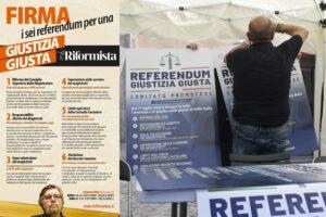 Referendum giustizia, anche a Roma prosegue la mobilitazione del Riformista