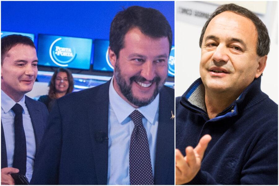 Salvini, il caso Morisi e la gogna per Mimmo Lucano: la 'Bestialità' del leader della Lega