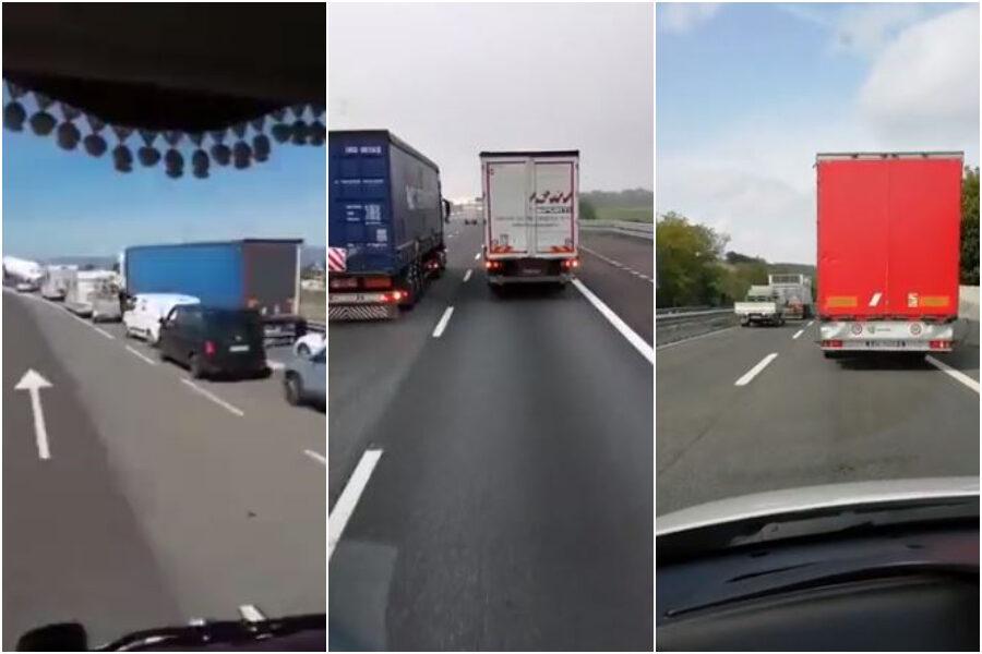 Sciopero dei camionisti, la protesta che doveva bloccare l'Italia contro il Green Pass verso il flop