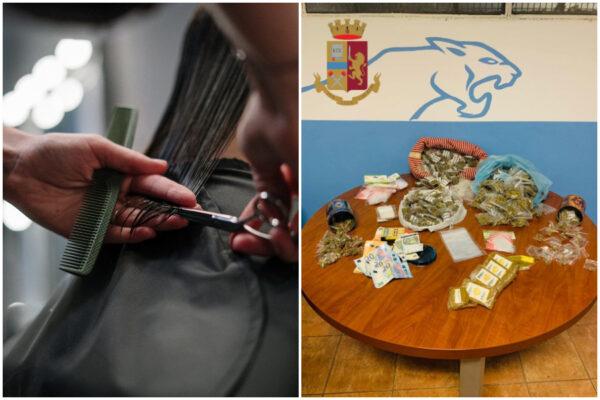 Taglio, piega e droga: negozio di parrucchiere diventa base di spaccio, prese due donne