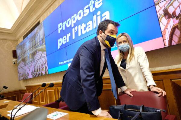Draghi deve restare a Palazzo Chigi, Salvini e Meloni sono inaffidabili