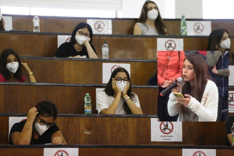 Studentessa No Green Pass rifiuta di uscire dall'aula, salta la lezione: caos all'università