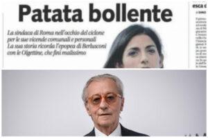 """Feltri condannato per il titolo 'patata bollente' su Raggi: """"Per me è un applauso"""""""