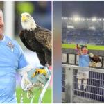 Chi è il falconiere della Lazio, Juan Bernabé sospeso dal club per il saluto romano e gli inni al Duce