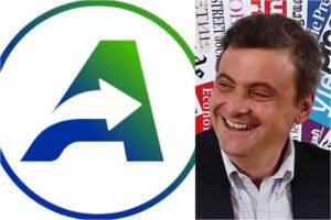 """Calenda lancia il nuovo simbolo del partito, l'ironia del web: """"Azione rapida, anche contro lo sporco più ostinato"""""""