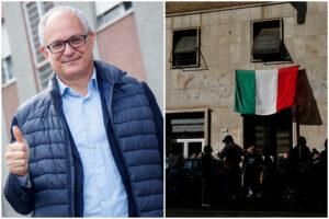 """Sgombero Casapound, Gualtieri: """"Già parlato col Governo, procederemo immediatamente"""""""
