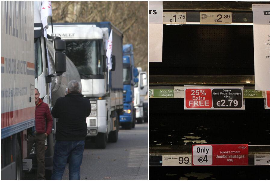 Un autotrasportatore su 3 senza Green pass, merci ferme e blocco dei rifornimenti
